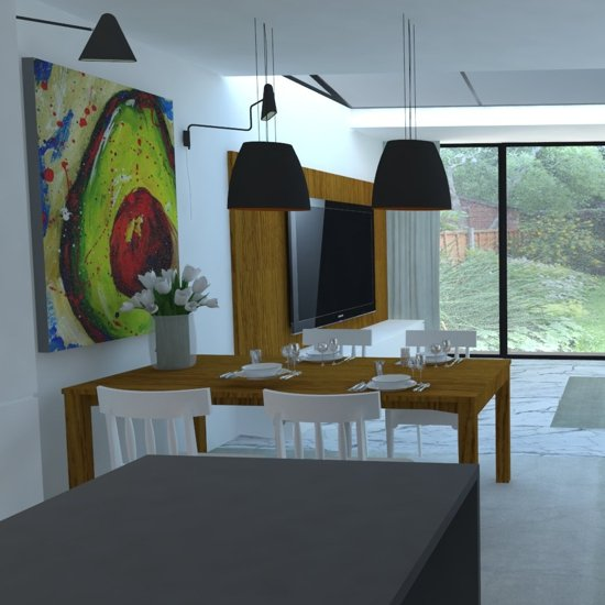 house for family interior plan in Utrecht